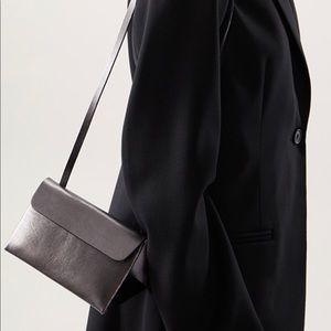 New Cos Mini Leather Triangle Bag
